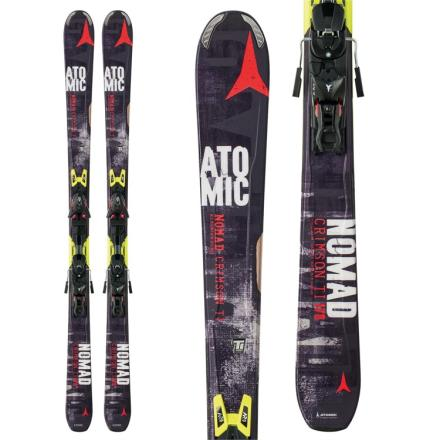 Nomad Crimson TI Skis + XTO 12 Bindings /