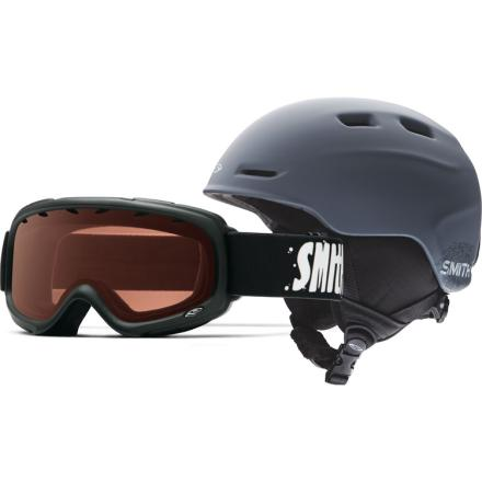 Zoom/Sidekick Helmet and Goggle Combo – Kid's /Black
