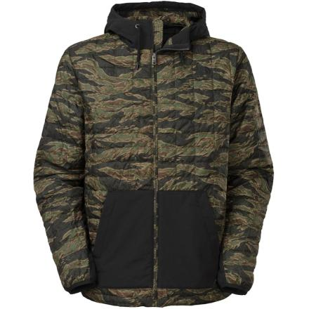 ThermoBall Snow Hoodie /Forest Night Green JC Tiger Camo Print