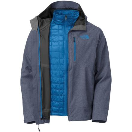ThermoBall Triclimate Jacket /Cosmic Blue Heather