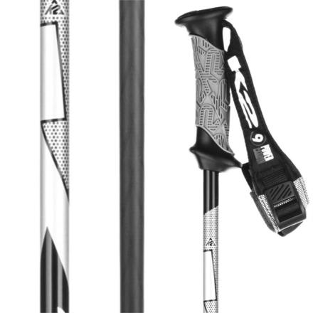 Power 9 Carbon Ski Poles /Black